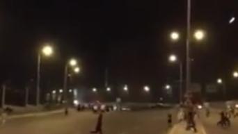 Кадры обстрела боевым вертолетом улиц Анкары
