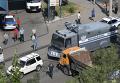 Ситуация в районе Эребуни в Ереване, где захвачены в заложники полицейские