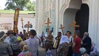 Боже, царя храни! по Софией Киевской. Видео