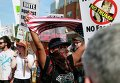 Протестная акция Shut down Trump & RNC в Кливленде