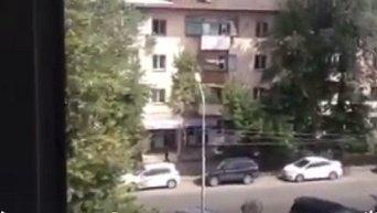 Перестрелка в Алма-Ате. Видео