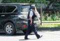 Нападение на полицейских в Алма-Ате