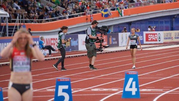Российская бегунья Юлия Степанова приняла участие в ЧЕ по легкой атлетике