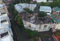 Последствия попадания молнии в многоэтажку Полтавы