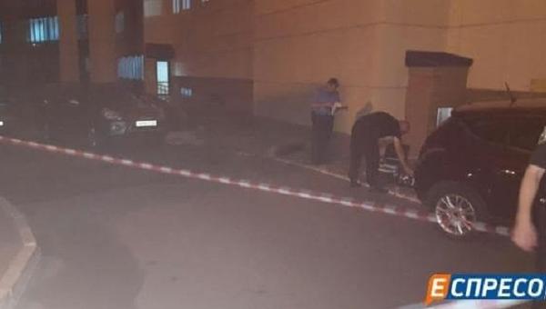 Правоохранители на месте похищения начальника департамента электроснабжения Укрзализныци Валерия Людмирского