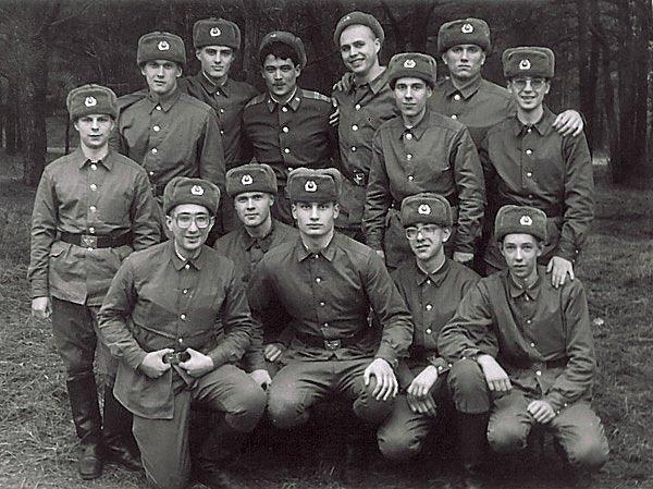 Виталий Кличко в армии
