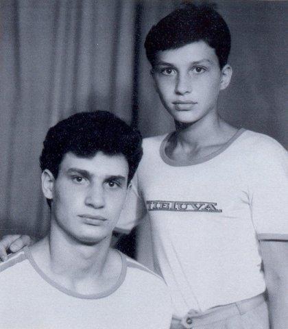 Владимир и Виталий Кличко в детстве