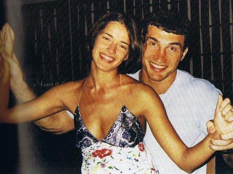 Виталий Кличко с любимой девушкой
