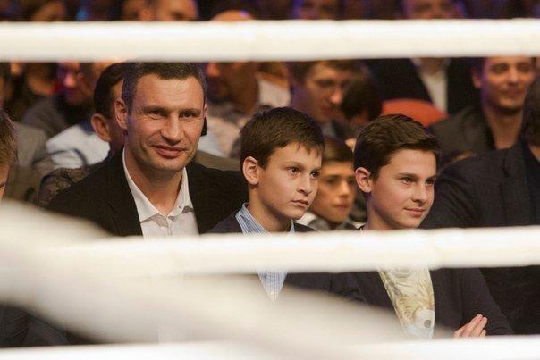 Виталий Кличко с сыном