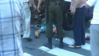 Шокирующие кадры с места гибели Павла Шеремета (18+)
