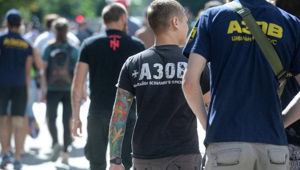 Члены гражданского корпуса Азов. Архивное фото
