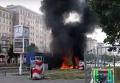 Момент взрыва грузовика в Берлине