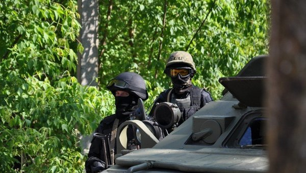 Бойцы СБУ. Архивное фото