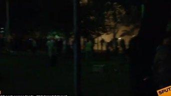 Столкновения в Ереване. Видео
