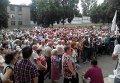 Митинг в Дружковке из-за отсутствия воды