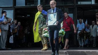 Павел Шеремет. Прощание с журналистом