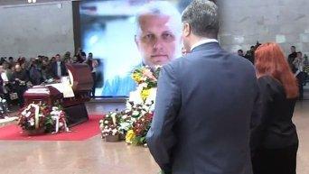 Порошенко простился с журналистом Шереметом