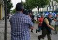 На месте стрельбы в торговом центре Мюнхена