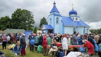 Крестный ход пересек границу Киевской области