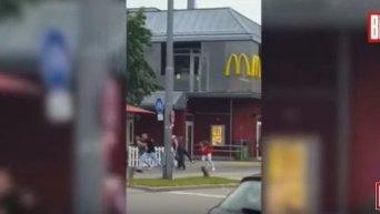 Стрельба в Мюнхене. Видео