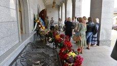 Прощание с Павлом Шереметом в Минске