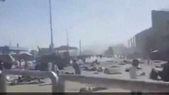 Теракт в Кабуле. Видео
