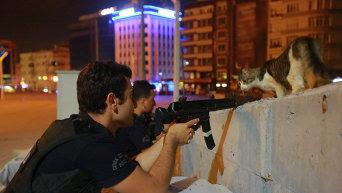 Турция во время попытки военного переворота