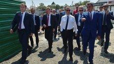 Визит Дмитрия Медведева в Крым 25 июля 2016 года