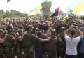 Крестный ход шел в Борисполе в кольце Нацгвардии. Видео