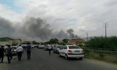 Взрыв на оружейном заводе в Азербайджане