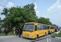 Автобусы для участников Крестного хода