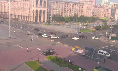Прямая трансляция с Майдана. Видео