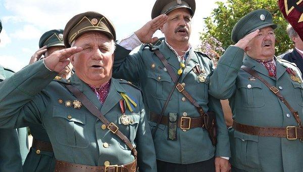 Воины дивизии Галичина. Архивное фото