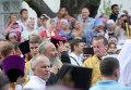 Онуфрий во время Крестного хода в Лавре