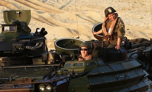 Масштабная десантная операция с участием американцев и Надежды Савченко в рамках активной фазы международных военно-морских учений Си Бриз-2016 в Одесской области