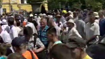 Крестный ход УПЦ КП в Киеве. Прямая трансляция