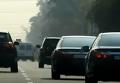 Появилось видео, как Луценко въезжает в Киев на скорости 160 км/час