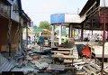 Снос ларьков на Демеевском рынке в Киеве