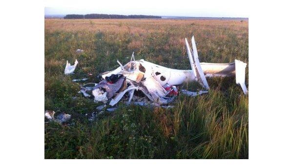 Под Пензой потерпел крушение планер, умер заслуженный летчик