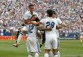 Футболисты Реала в матче против Челси