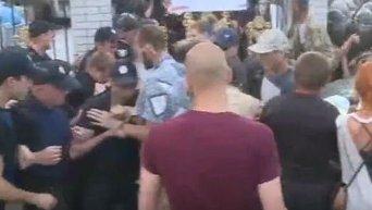 Столкновения Торнадо и полиции под судом в Киеве