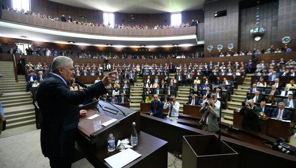 Парламент Турции. Архивное фото