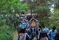 Крестный ход в Почаевскую лавру