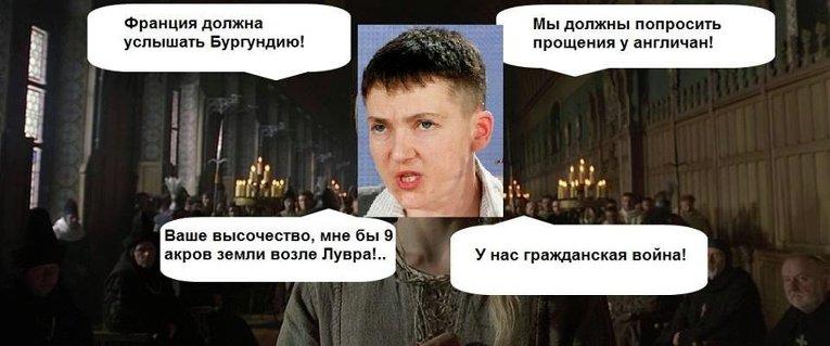 Савченко доставили в інститут судмедекспертизи для перевірки на поліграфі - Цензор.НЕТ 1323