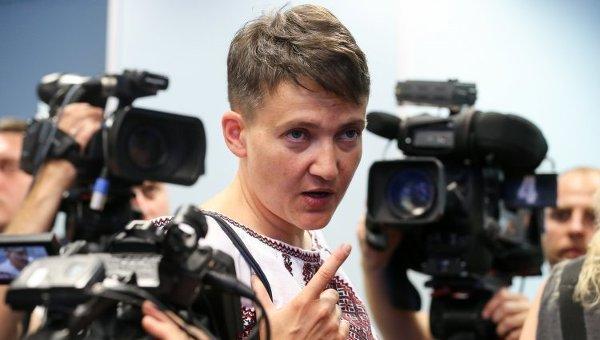 Генеральный прокурор Украины: Савченко хотела подорвать Раду иизавтоматов расстреливать выживших