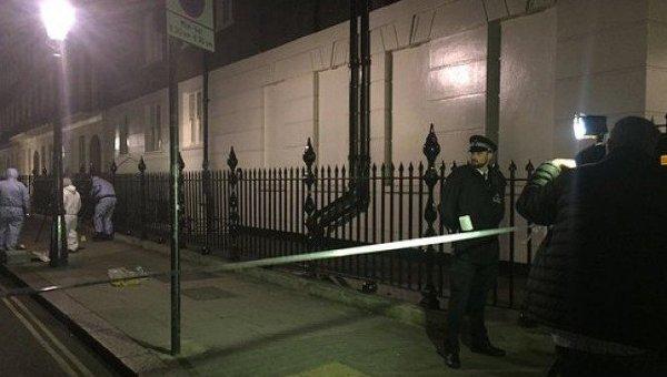 Милиция  увидела  подозрительную машину около  Букингемского замка