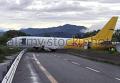 В Италии самолет совершил аварийную посадку на автостраду