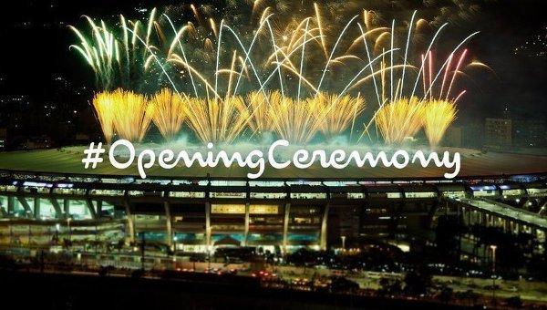 Открытие Летних Олимпийских игр в Рио-де-Жанейро