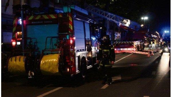 Пожар в баре во французском городе Руан