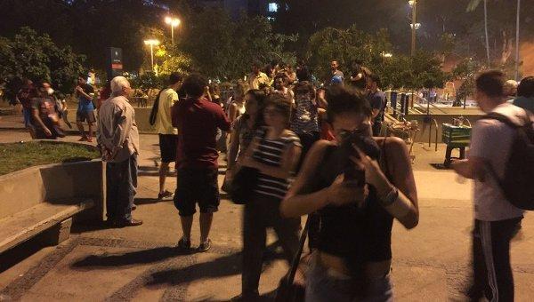 Разгон противников Олимпиады в Рио-де-Жанейро